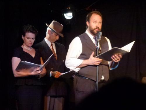 Jen Hasty, Dan Kinsella & Dave Cox, Fake Radio (credit: Jorge Vismara)