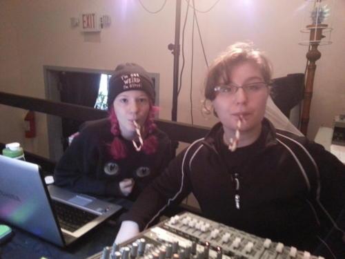 Giuliana Ward and Kat Nowack, Atlanta Radio Theater Company (ARTC)